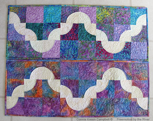 Desert Path Table Runner Free Tutorial