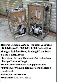 filter air minum reverse osmosis