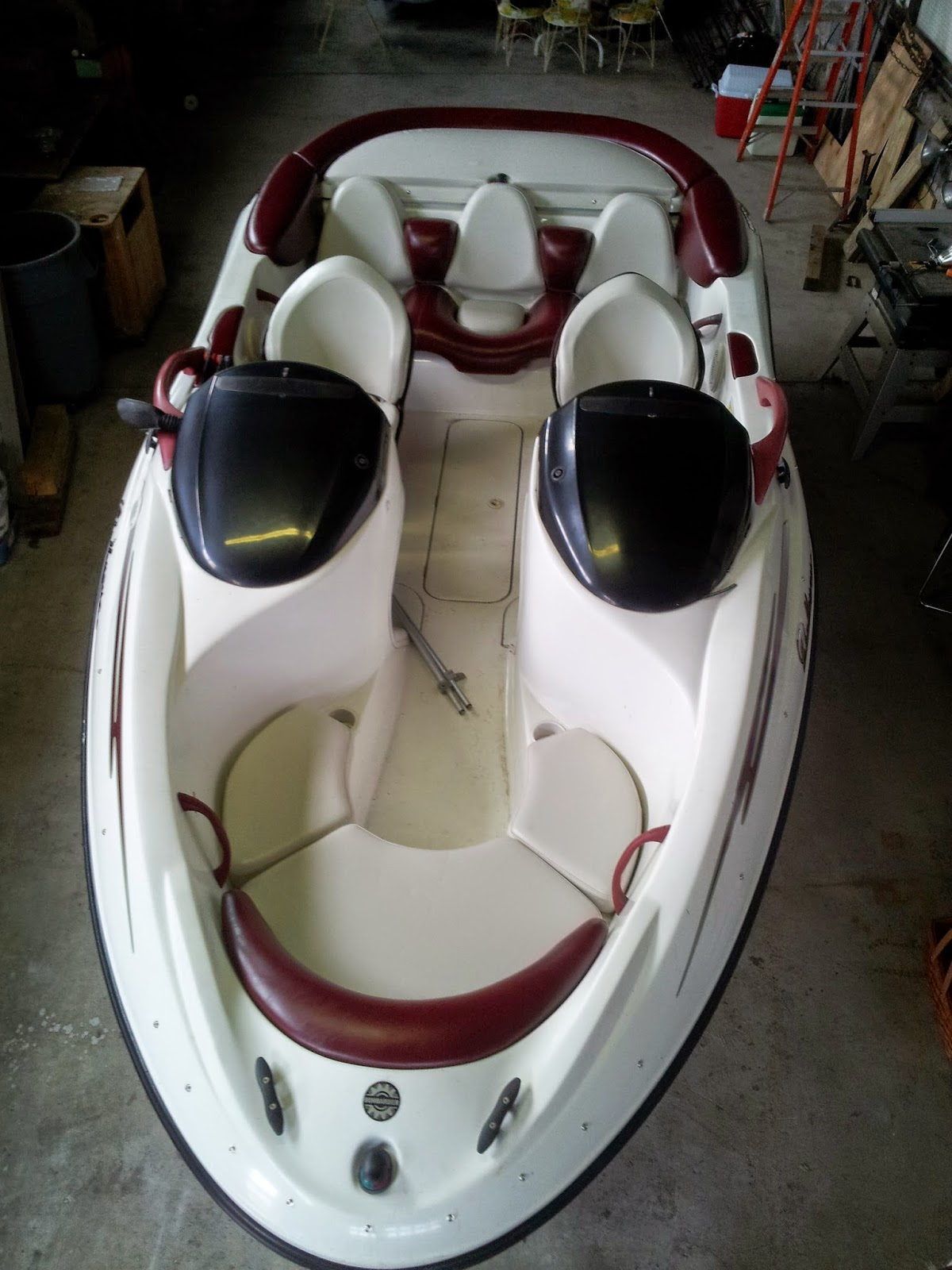 Homestyle Custom Upholstery And Awning Custom Jet Boat