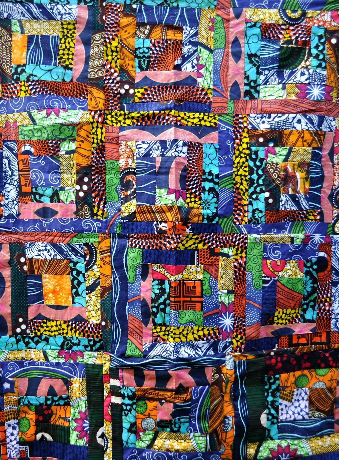 In Watermelon Sugar Quilts With African Fabric