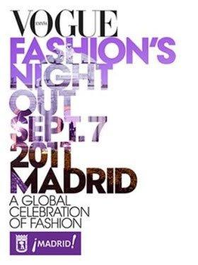 VOGUE FASHION NIGHT OUT MADRID SEPT 7  2011. PRONTO MUY PRONTO