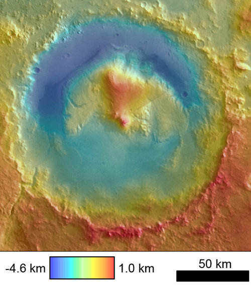 Scientist's work may provide answer to Martian mountain mystery