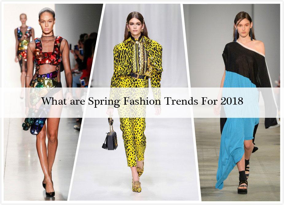 Spring Dress Trends 2018