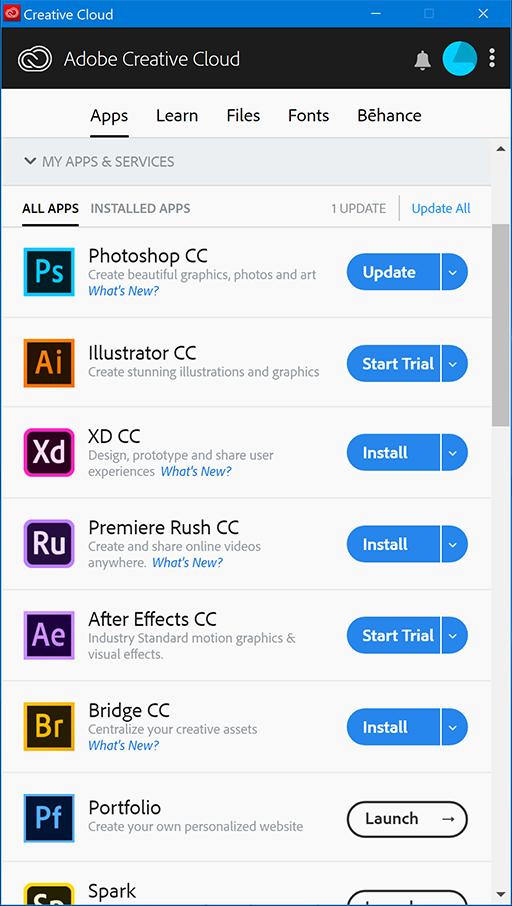 Adobe Creative Clound
