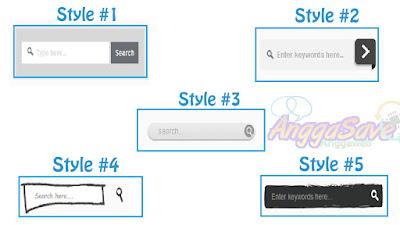5 Cara Membuat Widget Search Box Keren Di Blogger