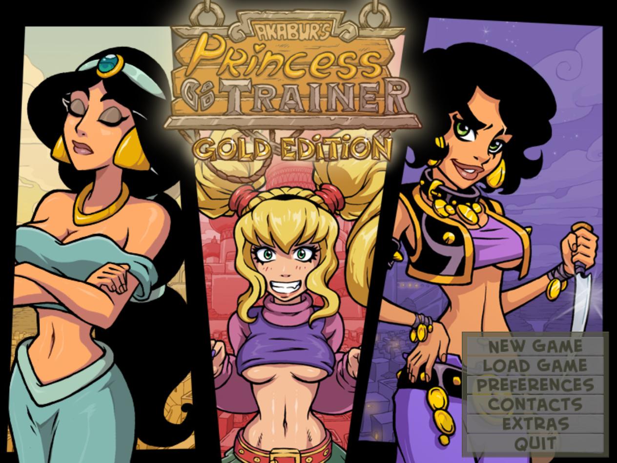 Akabur la xanocueva: el xanopervertido: princess trainer gold, magic shop y