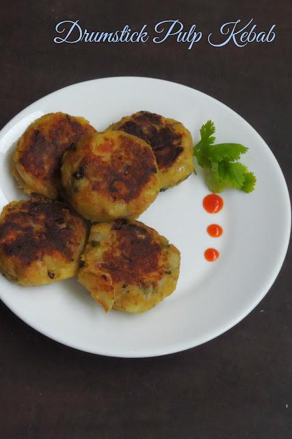 Drumstick pulp cutlet, Potato & Drumstick pulp Kebab