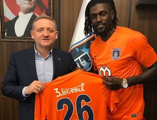 Emmanuel Adebayor Joins Turkish Side Istanbul Basaksehir