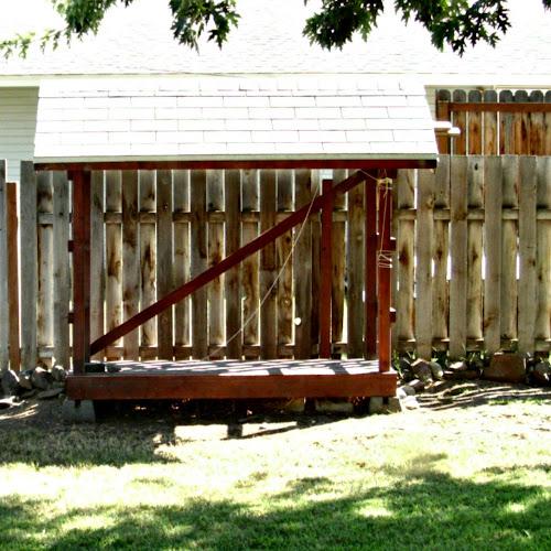 The Great Pergola Move - Weekend Yard Work Series