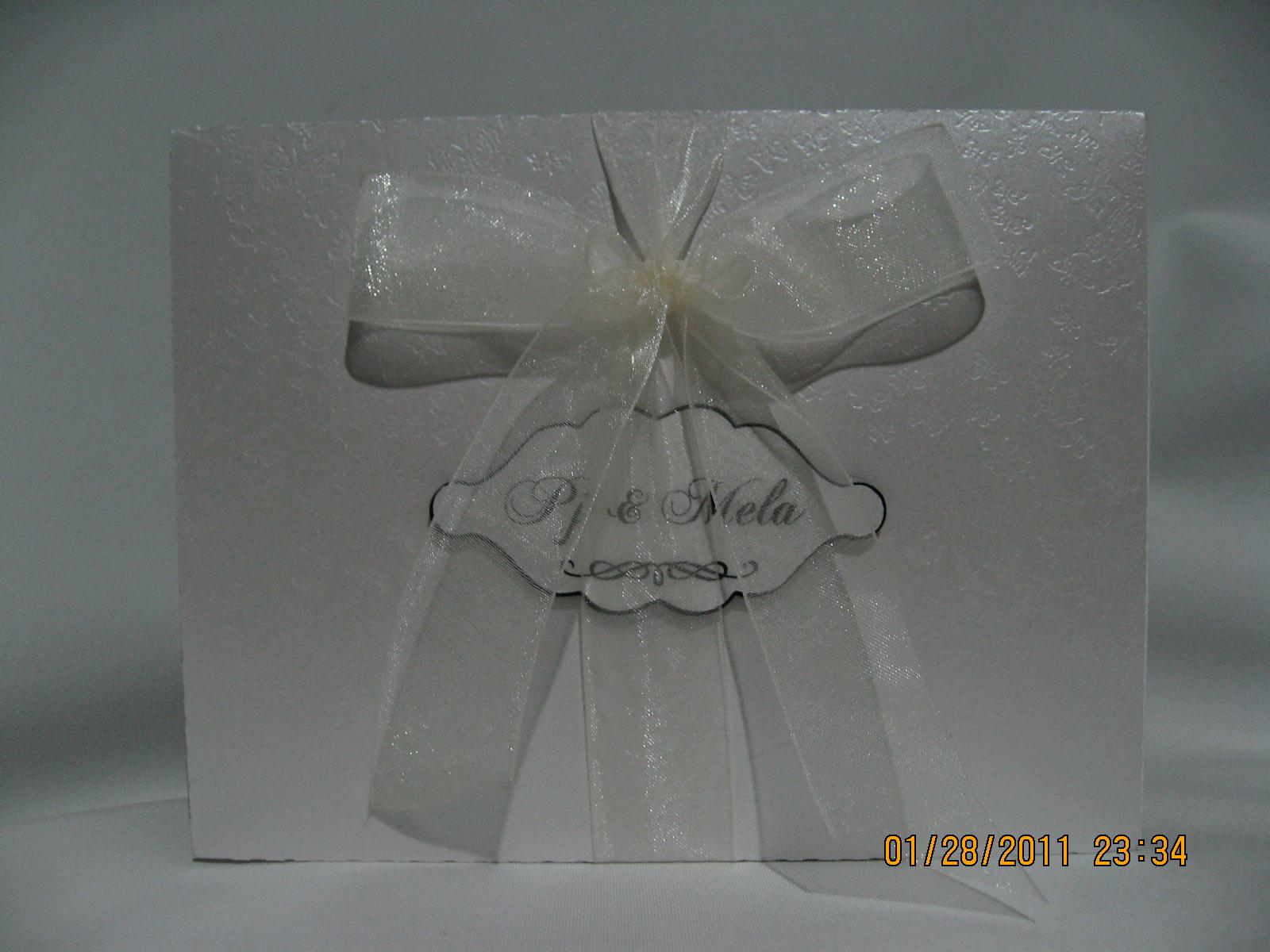 ligaya's creativity zone wedding card