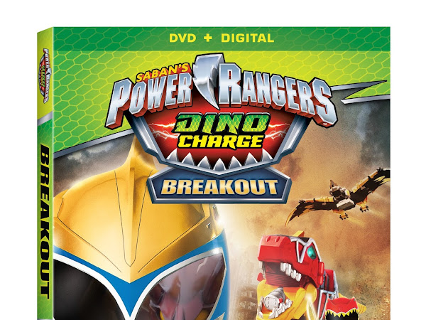 Power Rangers Dino Charge: Breakout- Available on DVD TODAY!