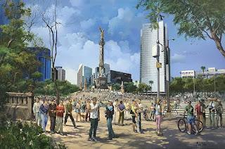 serie-de-paisajes-pintados-con-óleo panoramas-cuadros-oleo