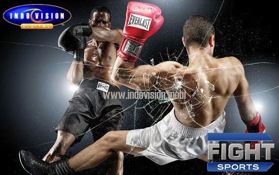 Channel Fight Sports Hadir di Indovision.