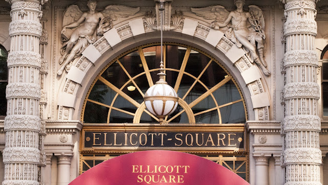 A self-guided architecture walk in downtown Buffalo: Ellicott Square Building
