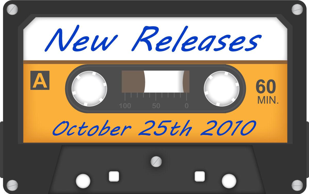 Slap The Penguin: New CD Releases for 25th October