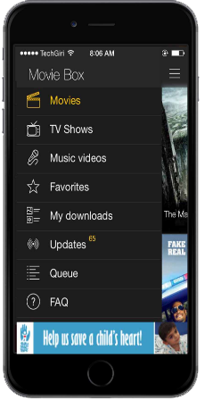 Download Moviebox For iPhone /iPad without jailbreak