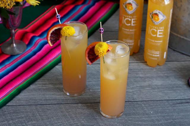 Aztec Marigold with Sparkling Ice