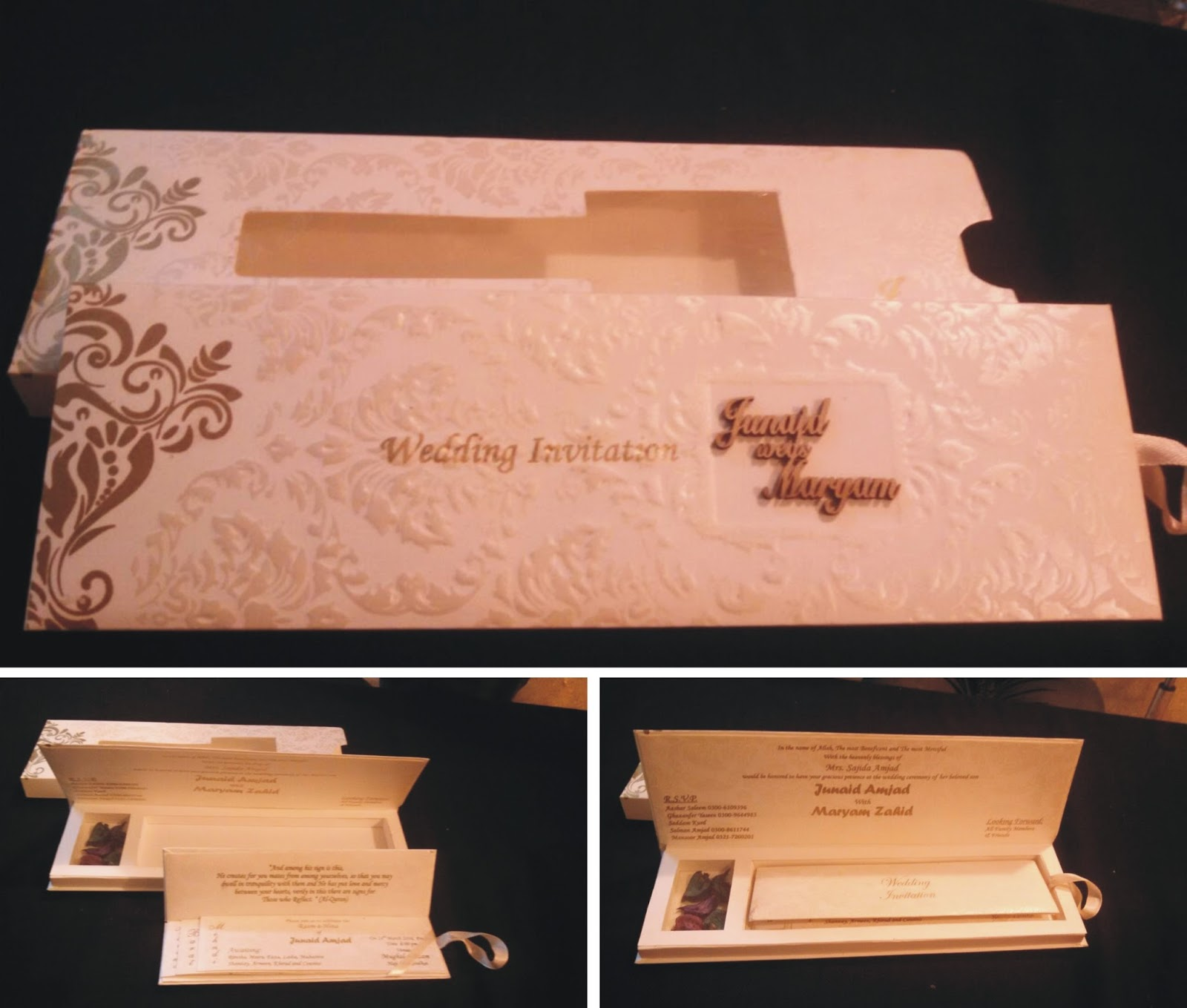 zem printers - Pakistani Wedding Invitations