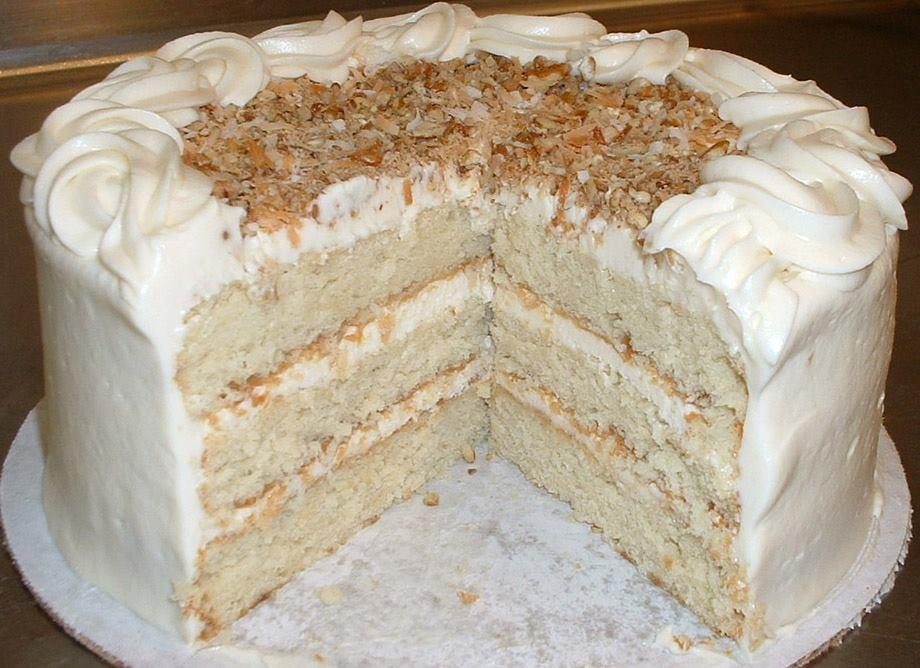 Gina S Favorites Italian Cream Cake