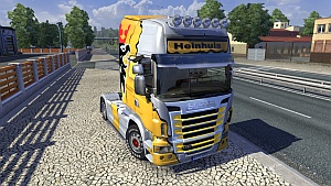 Scania R Heinhuis Skin by OveRTRucK