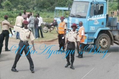 FRSC rescues trafficked children, impounds vehicle
