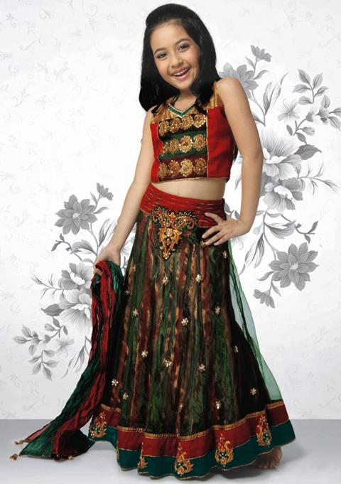 harga baju sari india anak