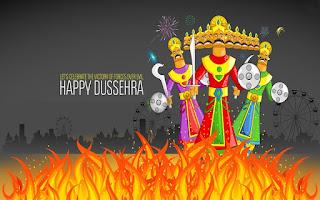 Happy Dussehra Wallpapers to Set on Desktop, PC