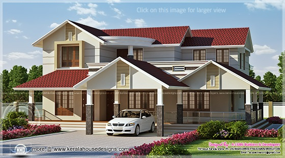 3268 sq-ft luxury house