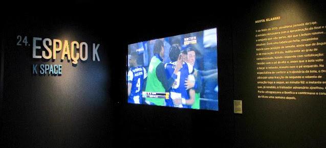 Espaço K no Museu do FC Porto