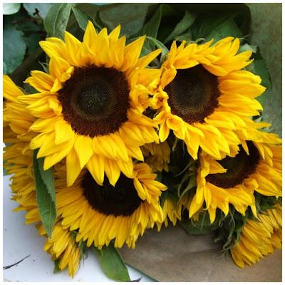 boeket-zonnebloemen
