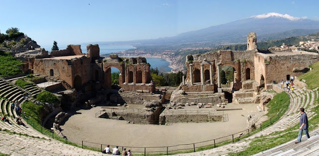 Passeios turísticos na Sicília e Taormina