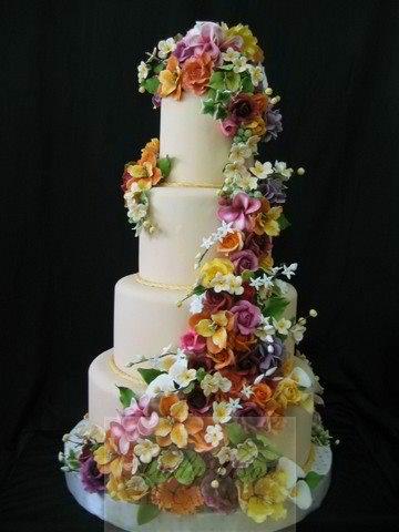 Philippine Wedding Trends Summer Wedding Cakes