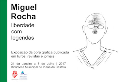 """Exposição - """" MIGUEL ROCHA – LIBERDADE COM LEGENDAS"""""""