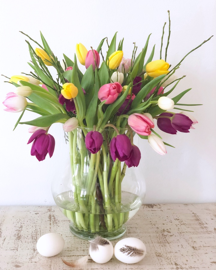 Big Bouquet of Tulips to welcome spring
