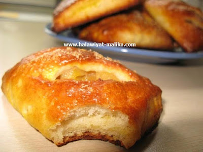 شوصون بالتفاح Chausson aux pommes