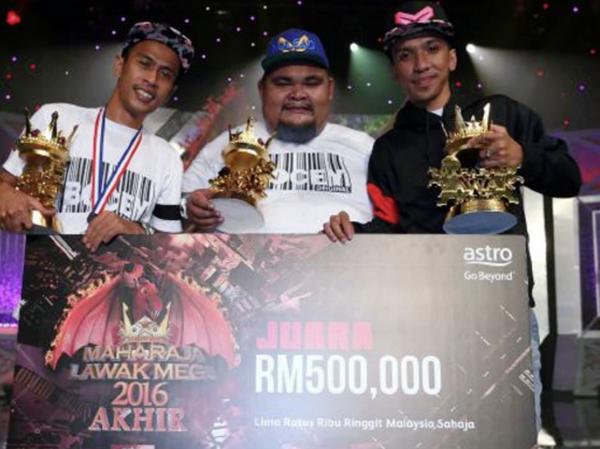Tahniah! Akhirnya Bocey Dinobatkan Juara MLM 2016