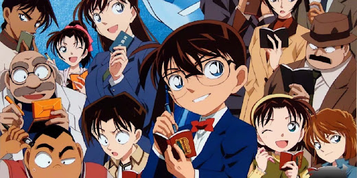 Congrats to Detective Conan's 1,000th Chapter