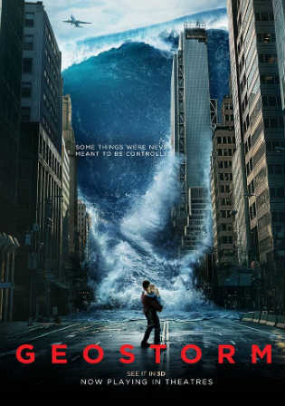 Geostorm 2017 Full Hollywood English Movie Download WEB-DL 300MB 480p