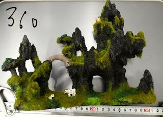Tượng trang trí giả núi đá 360