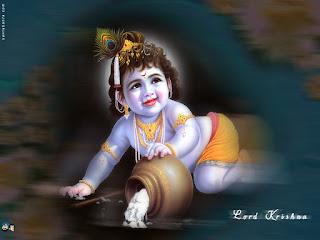 Shri Krishna Baby Photos