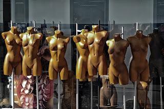 fashion dummmies in storage
