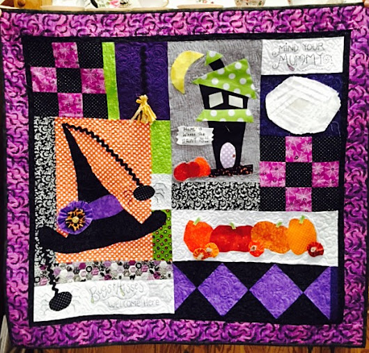 Halloween Wallhanging Block of the Week
