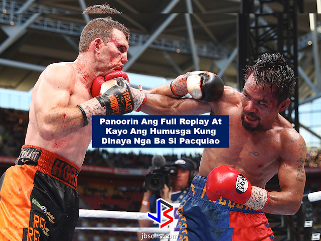 "The Battle of Brisbane ended with a controversial unanimous decision win in favor of the Australian boxer Jeff Horn against the Filipino boxer/Senator Manny Pacquiao. A lot of Filipino and foreign fans as well as various sports analysts was in huge disappointment on the judges decision. Some said : ""Pacquiao was robbed..."" Stephen A. Smith of the ESPN said that the unanimous decision for Jeff Horns' win was a bogus decision made by the judges.   Boxing legend Teddy Atlas told Jeff Horn on his face that he really thought Horn has lost the fight. He even ask Horn if he think he really won the match.    Another video is making rounds on the social media of Mark Nelson the fight referee telling Horn that ""he (the referee) is there to protect him."" Is it just us or something is really ""cooking"" during the fight?     Manny Pacquiao said that he already accepted that the judges decision is final and he can't do anything about it. On an interview with Miss Dianne Castillejo of ANC, he narrated the ordeal he had during his fight with the Australian boxer. He said that as we all see that Horn was throwing punches on him, it was really nothing. All that he was concerned about was the head butts, the elbow and the obvious clipping of Horn's arm over his neck that could have been prevented by the referee from happening.  Manny Pacquiao said he still wants to fight after the lost. He also expressed his gratitude to all of his celebrity and non-celebrity boxing fans who showed all out support in spite of losing the bout. Pacquiao also said that he is open for a possible rematch but it is up to promoter Bob Arum and Pacquiao's trainer Freddie Roach to decide ."