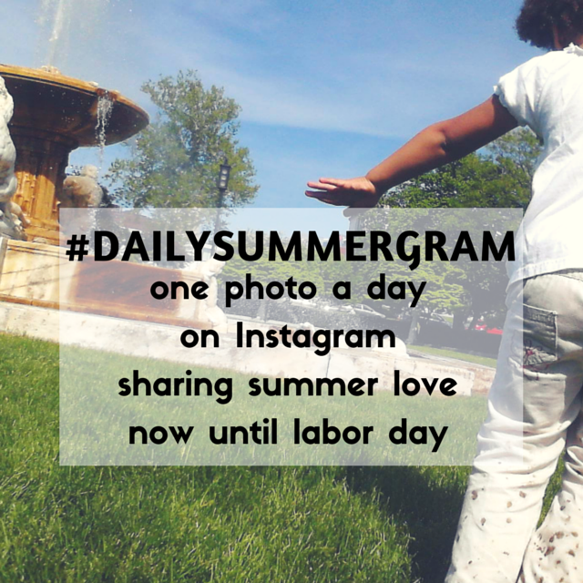 #dailysummergram - one summer photo a day on Instagram