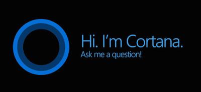 Cortana on windows 10