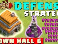 Base TH 6 TERKUAT Clash Of Clans Anti Bintang 3 WAR