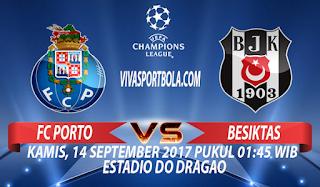 Prediksi Porto vs Besiktas 14 September 2017