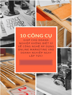 10 công cụ Marketing