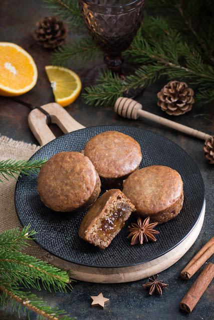 Nonnettes- Petits pains d'épices à l'orange
