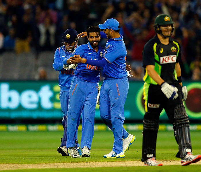 indian-cricket-team-celebrates-wining-T20-series-against-australia-in-2016